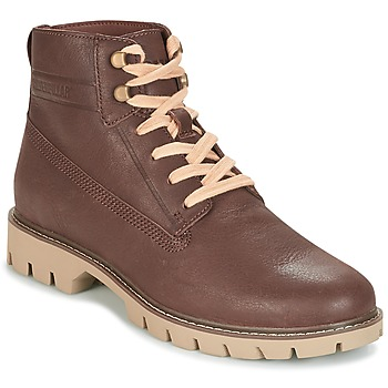 Skor Herr Boots Caterpillar BASIS Brun