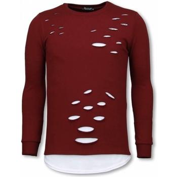 textil Herr Sweatshirts Tony Backer Longfit Aged Look UPTB Bordeaux