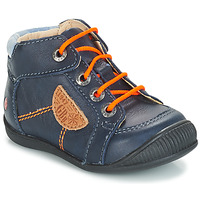 Skor Pojkar Boots GBB RACINE Blå / Marin