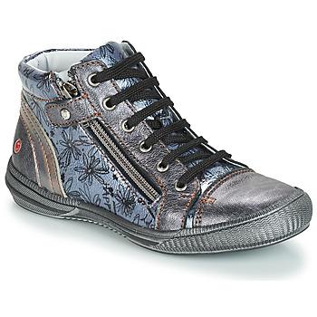 Skor Flickor Boots GBB RACHIDA Grå / Blå