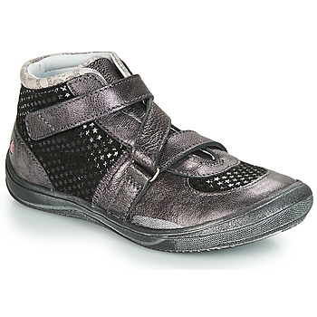 Skor Flickor Höga sneakers GBB RIQUETTE Svart / Silver