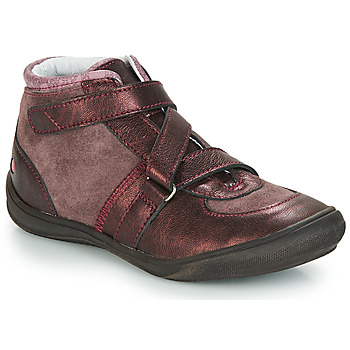 Skor Flickor Höga sneakers GBB RIQUETTE Brun / Brons