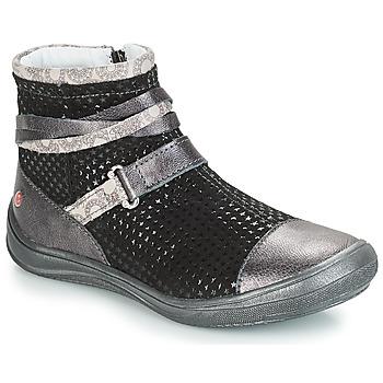 Skor Flickor Boots GBB ROCHELLE Grå / Svart