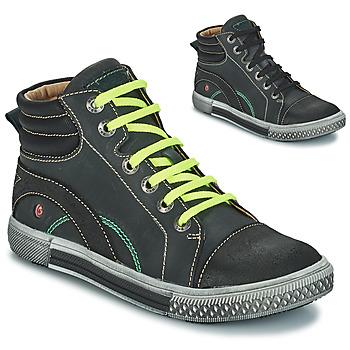 Skor Pojk Boots GBB RALPH Grå / svart