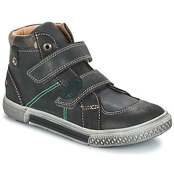 Skor Pojk Boots GBB RANDALL Grå / svart