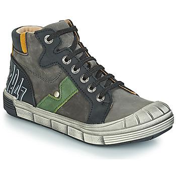 Skor Pojk Boots GBB RENZO Grå / svart