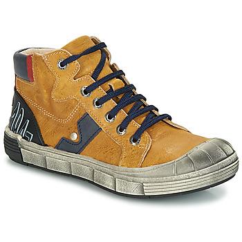 Skor Pojk Boots GBB RENZO Okrafärgad