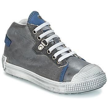 Skor Pojk Boots GBB RONALD Grå / blå
