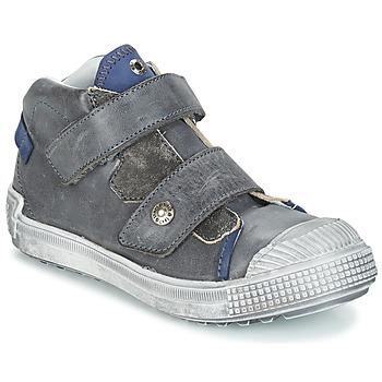 Skor Pojkar Höga sneakers GBB ROMULUS Grå / Blå
