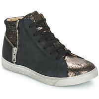 Skor Flickor Höga sneakers GBB CARLA Svart / Brons