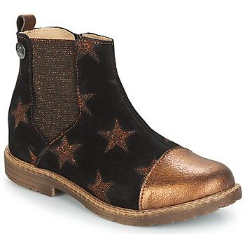 Skor Flick Boots GBB LEONTINA Svart / Mässingsfärg
