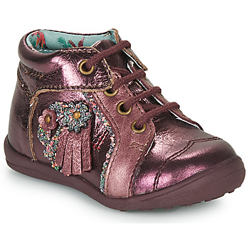 Skor Flickor Boots Catimini RAINETTE Bordeaux