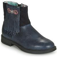 Skor Flickor Boots Catimini RENOUEE Marin
