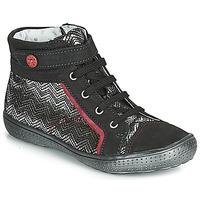 Skor Flickor Boots Catimini ROSIERE Ctv / Svart - silver