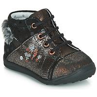 Skor Flickor Boots Catimini ROULETTE Svart-koppar
