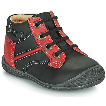 Skor Pojkar Boots Catimini RATON Svart / röd