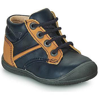 Skor Pojkar Boots Catimini RATON Marin-ockra