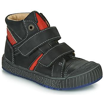 Skor Pojkar Boots Catimini RAIFORT Svart / Röd