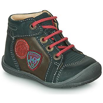 Skor Pojkar Boots Catimini REGLISSE GrÖn-brun