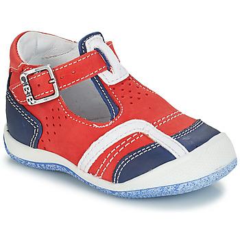 Skor Pojkar Sandaler GBB SIGMUND Röd / Blå