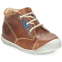 Skor Pojk Boots GBB SAMUEL Guldbrun