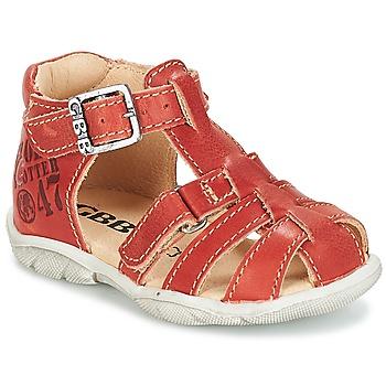 Skor Pojk Sneakers GBB PRIGENT Rostfärgad