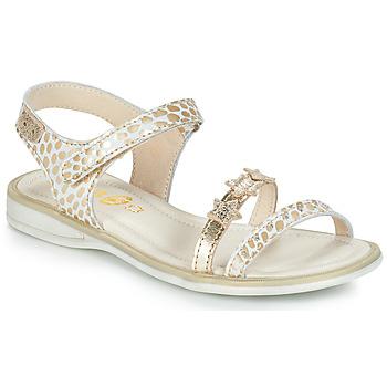 Skor Flick Sandaler GBB SWAN Vit / Guldfärgad