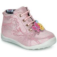 Skor Flick Boots Catimini SALAMANDRE Rosa-silver