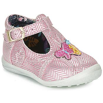 Skor Flickor Boots Catimini SOLEIL Rosa-silver