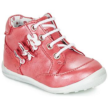 Skor Flickor Boots Catimini SOLDANELLE Röd / Pärlemor