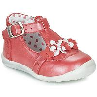 Skor Flickor Boots Catimini SALICORNE Röd / Pärlemor