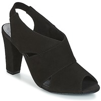 Skor Dam Sandaler KG by Kurt Geiger FOOT-COVERAGE-FLEX-SANDAL-BLACK Svart