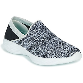 Skor Dam Slip-on-skor Skechers YOU Svart / Vit