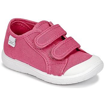 Skor Flickor Sneakers Citrouille et Compagnie GLASSIA Rosa