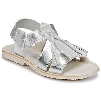 Skor Flick Sandaler Citrouille et Compagnie INAPLATA Silver