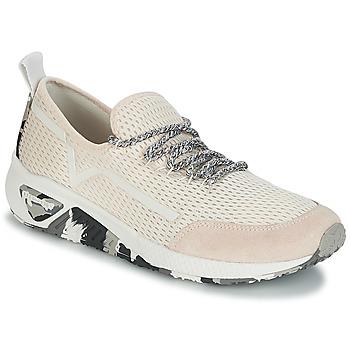 Skor Dam Sneakers Diesel S-KBY Rosa / Blek