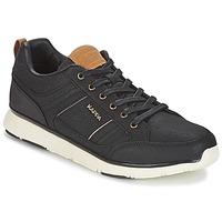 Skor Herr Sneakers Kappa SIMEHUS Svart