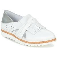 Skor Dam Loafers Regard RASTAFA Vit / Silver