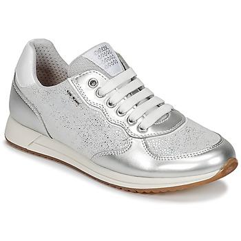 Skor Flick Sneakers Geox J JENSEA G. D Grå / Silver
