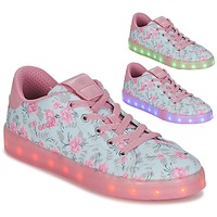 Skor Flick Sneakers Geox J KOMMODOR G. B Blå / Rosa