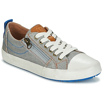 Skor Pojkar Sneakers Geox J ALONISSO B. D Grå / Blå