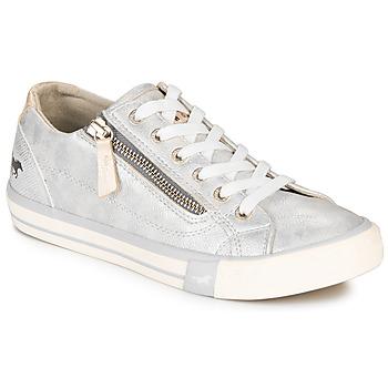 Skor Dam Sneakers Mustang JOBARIK Silver