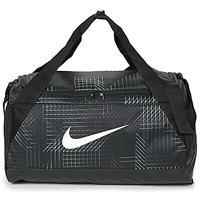 Väskor Sportväskor Nike BRASILIA SMALL Svart / Vit