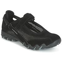 Skor Dam Sneakers Allrounder by Mephisto NIRO Svart
