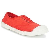 Skor Dam Sneakers Bensimon TENNIS LACET Röd