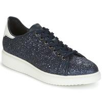 Skor Dam Sneakers Geox D THYMAR C Blå / Vit