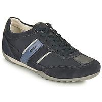 Skor Herr Sneakers Geox U WELLS C Blå