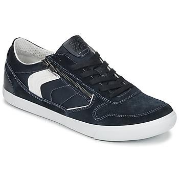 Skor Herr Sneakers Geox U BOX C Blå
