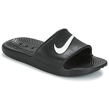 Skor Dam Flipflops Nike KAWA SHOWER SANDAL W Svart / Vit
