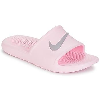 Skor Dam Flipflops Nike KAWA SHOWER SANDAL W Rosa / Grå